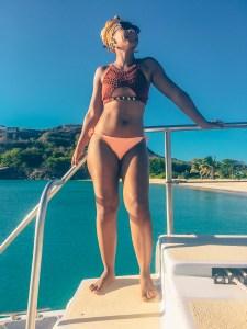 Wadadli Cats day cruise - Celene Senhouse
