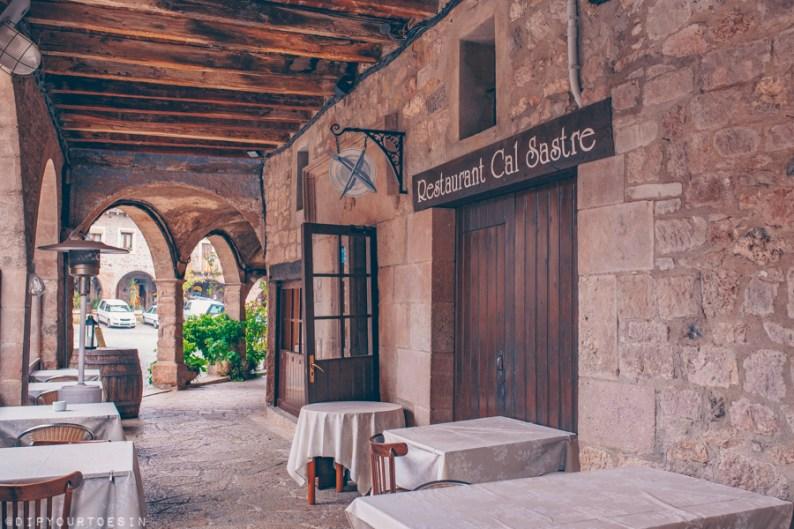 Cal Sastre, restaurant in Santa Pau, Girona Province, Catalonia
