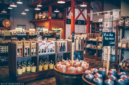 Wines at Cooperativa Agrícola de Garriguella (a wine cooperative) in Empordà, Catalonia, Spain