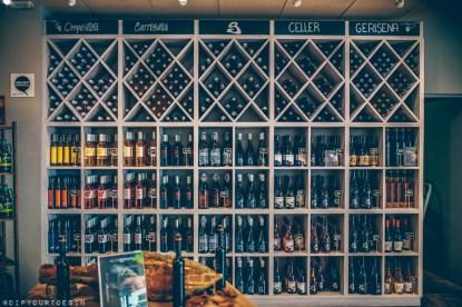 Wines at Cooperativa Agrícola de Garriguella