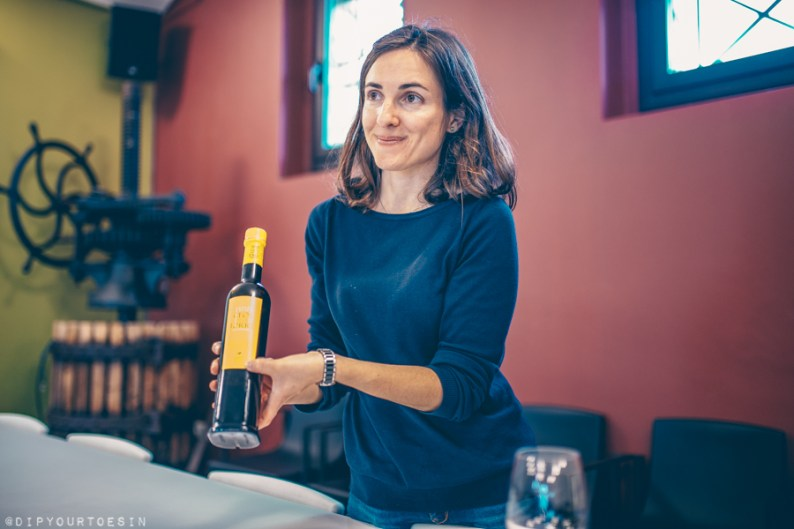 Sampling olive oils with Gemma Roig Aubert   Mas Llunes   Wine Tourism in Empordà