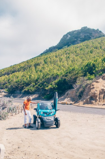 Tour Porto Santo in electrically-powered Renault Twizzy