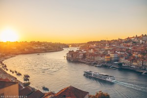Sunset over the River Douro - Porto - Visit Portugal in One Week with TAP Air Portugal