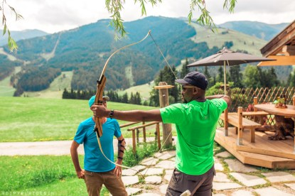 Bowhunting and archery practice in Saalfelden Leogang | summer holidays in Austria