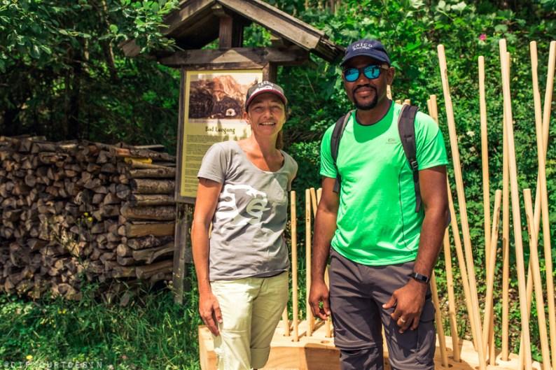 Birgit Battocleti, hiking guide, in Saalfelden Leogang, Austria