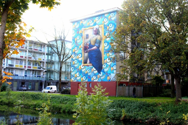 Street Art Tour in Oud West | Old West | Amsterdam | with Street Art Museum Amsterdam