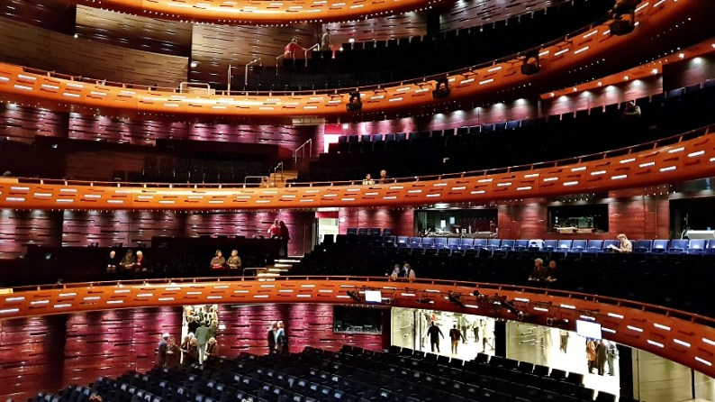Inside the Copenhagen Opera House (Operaen)