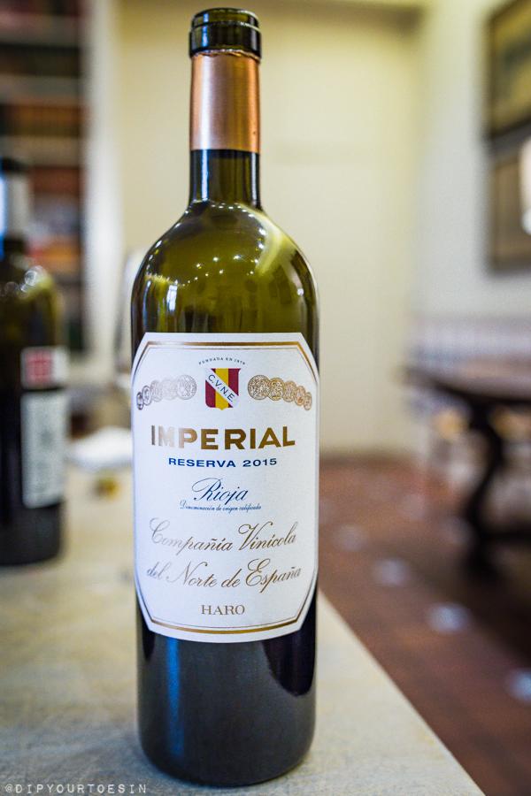 CUNE | Imperial Reserva | Compañia Vinicola del Norte de España, Haro | Visit La Rioja