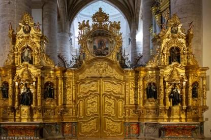 Altar inside Monasterio de San Millán de Yuso | La Rioja Turismo