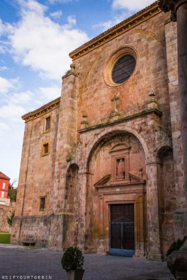 Outside the Monasterio de San Millán de Yuso | La Rioja Turismo