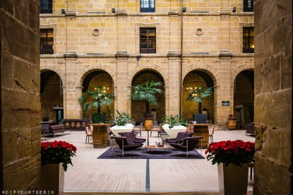 Inside Hotel Los Agustinos, Haro, La Rioja