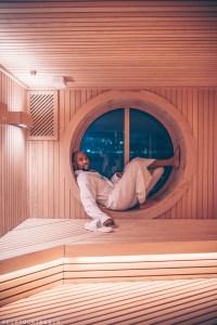 Sauna | Redemption Spa on Scarlet Lady by Virgin Voyages
