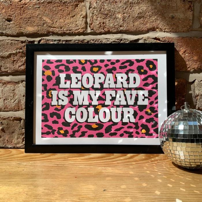 Leopard is my fave