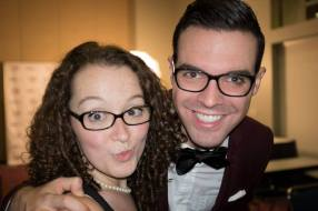With Jordan at the LeakyCon Ball
