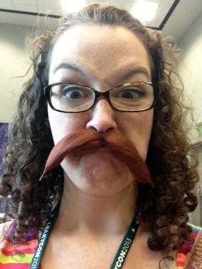 Largest Gathering of People Wearing False Moustaches
