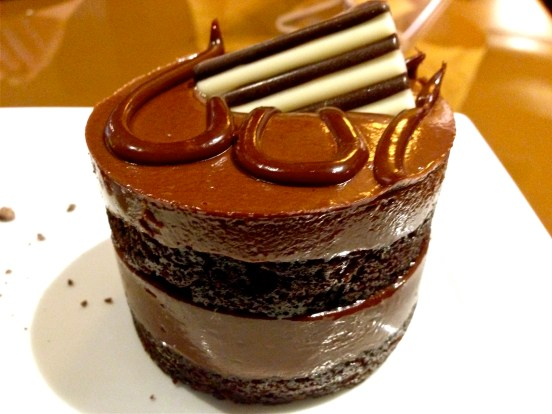 A Bourbon Chocolate cake....