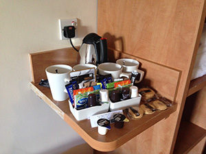 Ayr, Scotland In-Room Coffee