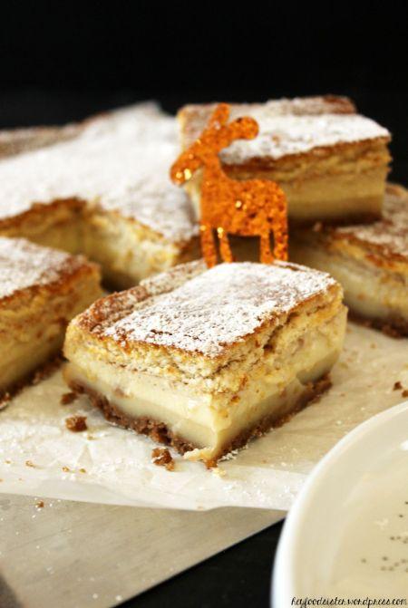 Rezept für einen Magic Cake mit Spekulatius Hey Foodsister
