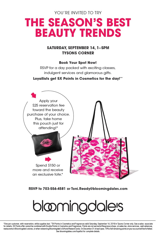Bloomingdale's! Let's Party Sept. 14th!