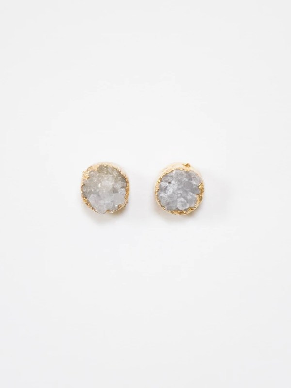 There's something about the rugged elegance of Druzy Stone Earrings that is just captivating.