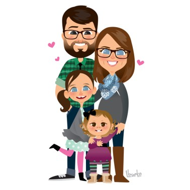 Steve + Melissa + Penelope + Claire