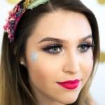 Brazilian Carnival, Carnival, Carnaval, makeup, hair, glitter, festival, beauty