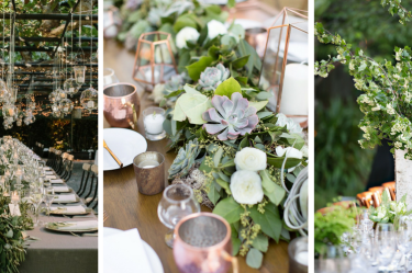 pantone, color of the year, greenery, wedding, trends, decor, wedding decorations, inspiring, nature, foliage, flowers, pink gold, wedding trends, rustic wedding, classic wedding, romantic wedding, beach wedding, barn wedding, farm wedding