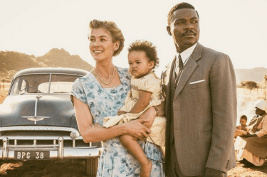 A United Kingdom, Botswana, David Oyelowo, Rosamund Pike, BFI London Film Festival, movie, movie tip, apartheid,