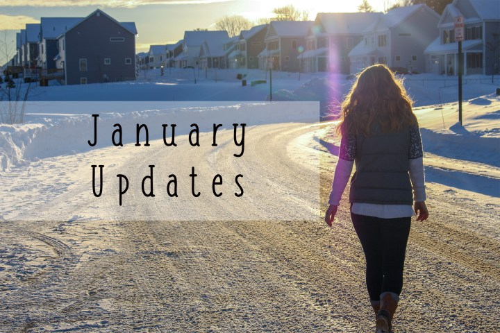 Wrapping up January