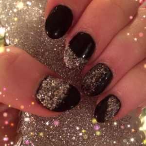 Pinterest Inspired Sparkle Nails!