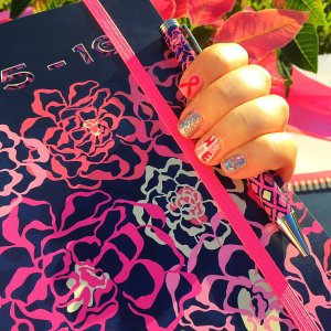 Showing My Support for someone special in my life & for the Vera Bradley Foundation!