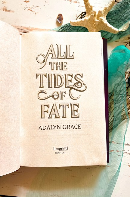 Adalyn Grace All The Tides of Fate