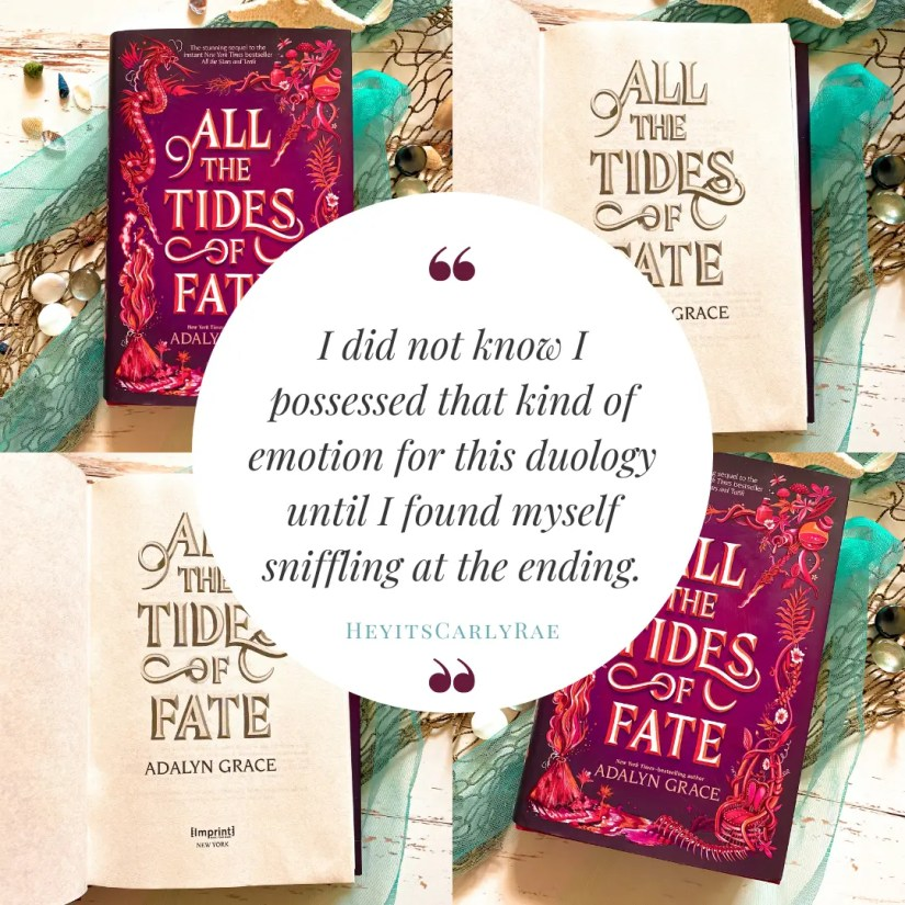 All the Tide of Fate Review Quote