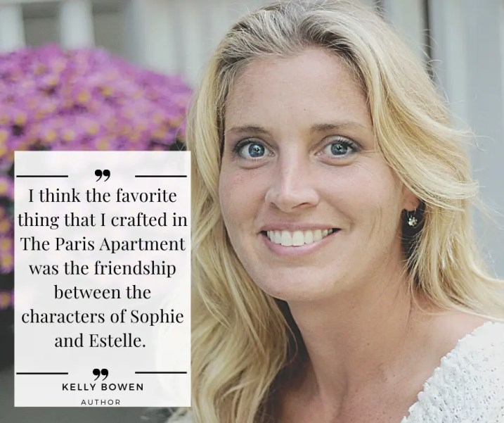 Exclusive Quote from Kelly Bowen