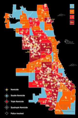 City Homicide Map