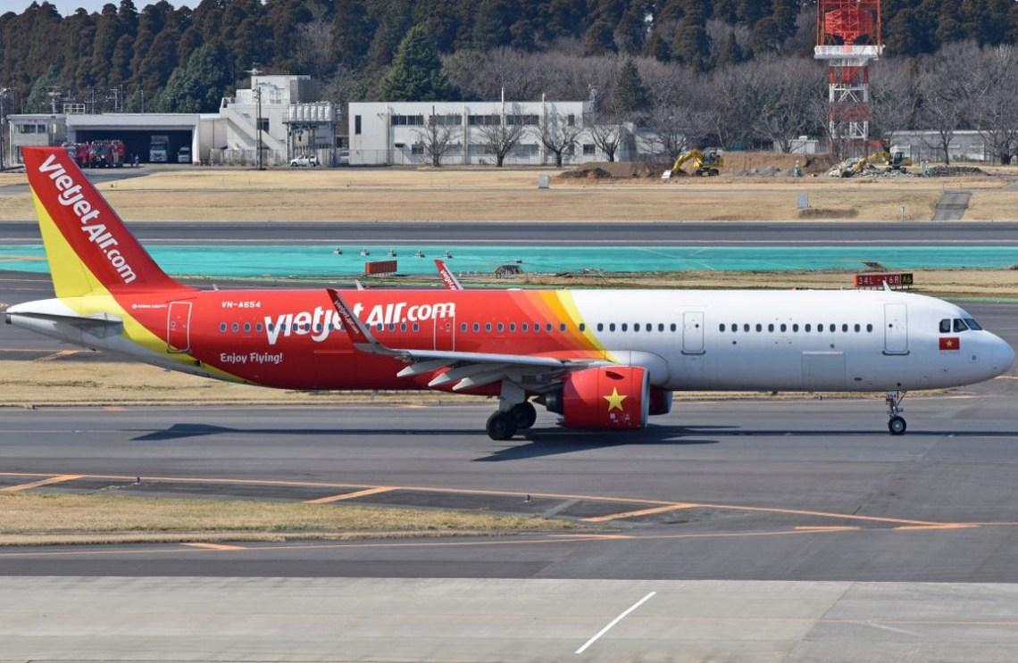 Vietjet A321XLR warp