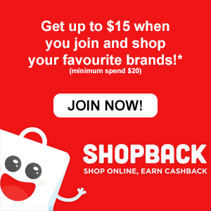 Join Shopback and get cashback