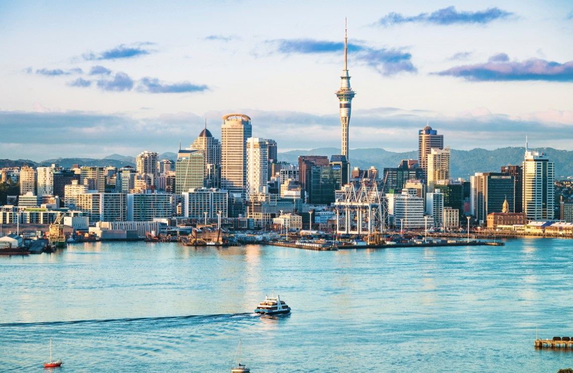 Auckland, New Zealand skyline | 48-Hours in Auckland, New Zealand | What to do on a layover in Auckland