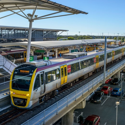 Brisbane Airtrain Domestic Terminal | How to get to Brisbane Airport from the Gold Coast