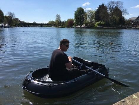 Heyland Neptune 220 Rowing Boat11