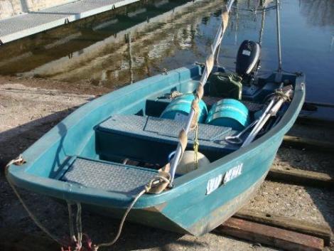 Heyland Sturdy 400 Rowing Boat9