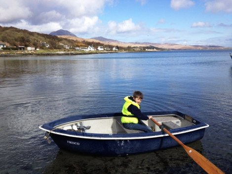 Heyland Swan Rowing Boat6