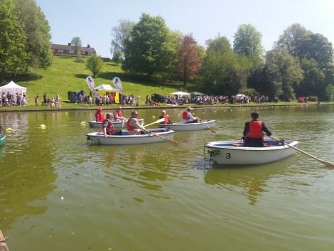 Heyland Swan Rowing Boat14
