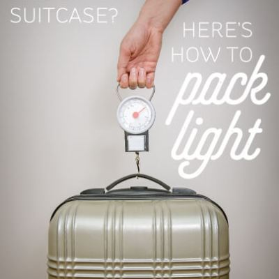Top 10 Tips for Packing Light