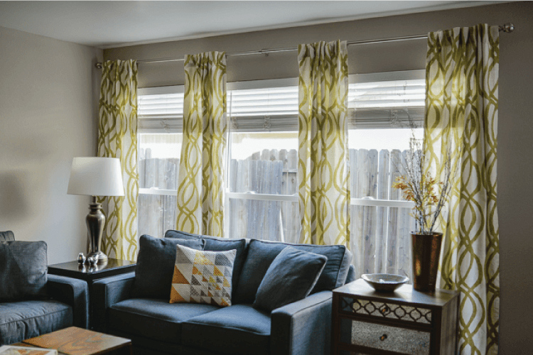 How To Hang Curtains A Quick Tutorial Hey Lets Make Stuff