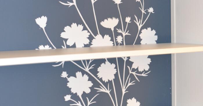 Updating the IKEA Hemnes Bookcase with Wallternatives - Hey