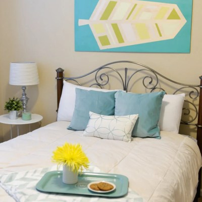 Guest Bedroom Makeover for Just $200!