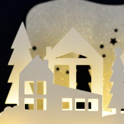 Winter Wonderland Luminaria