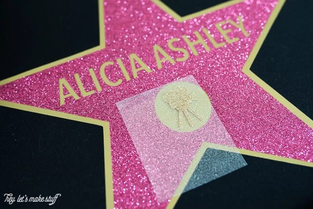 Walk of Fame Swag Bag - the perfect party favor for an Oscars party! Fill with all sorts of fun goodies for your guests and make them feel like a star!