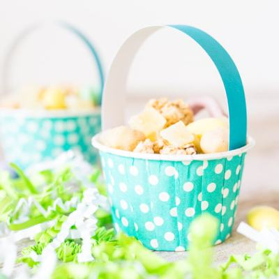 Easter Basket Snack Cups